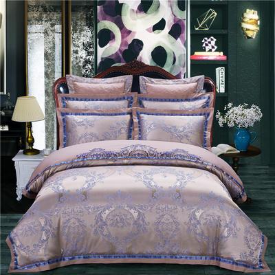 慕絲 床單vs床蓋 同款4-7件套 標準床單四件套 藍語迷情