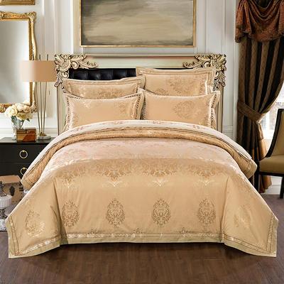 慕絲 床單vs床蓋 同款4-7件套 標準床單四件套 幸福殿堂-金黃