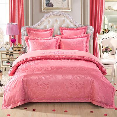 慕絲 床單vs床蓋 同款4-7件套 標準床單四件套 浪漫佳期-紅玉