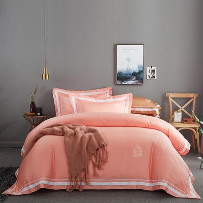 2019新款居家長絨棉系列-七星系列四件套 1.5m-1.8m 凱爾維特 典雅玉