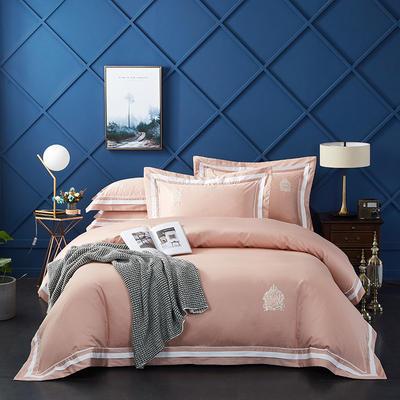 2020新款60长绒棉  居家四件套-七星系列 1.5m(5英尺)床单款 凯尔维特-浅豆沙