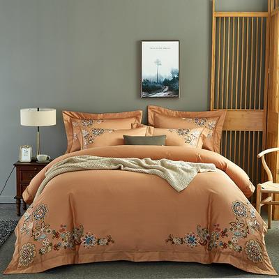 2020新款60長絨棉  居家四件套-睿系列 1.5m(5英尺)床單款 伯尼爾