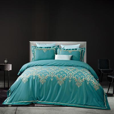 2020新款60長絨棉  居家四件套-睿系列 1.5m(5英尺)床單款 克洛麗