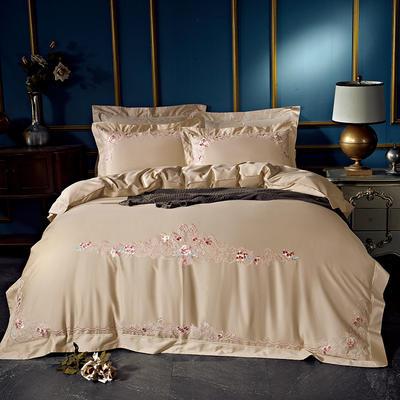 2020新款60長絨棉  居家四件套-睿系列 1.5m(5英尺)床單款 曼妮