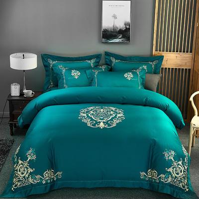 2020新款60長絨棉  居家四件套-睿系列 1.5m(5英尺)床單款 墨爾本
