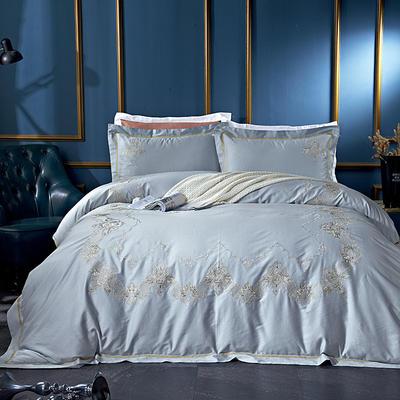 2020新款60長絨棉  居家四件套-睿系列 1.5m(5英尺)床單款 緹雅