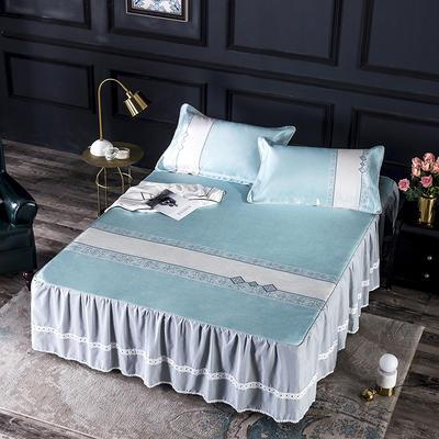 600D冰丝席床裙款 (绑带长短可调节) 150x200 奢华部落床裙