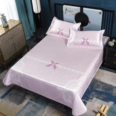 600D高精密冰丝席床单款(绑带可调节) 1.5m(5英尺)床 少女心