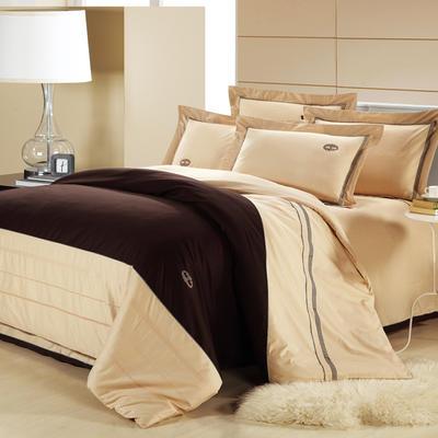 精梳棉绣花四件套系列 1.5m(5英尺)床 华丽盛典