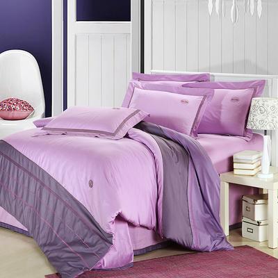 精梳棉绣花四件套系列 1.5m(5英尺)床 婉香之美