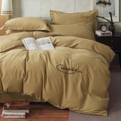 人字呢保暖磨毛四件套 1.5m(5英尺)床 摩卡