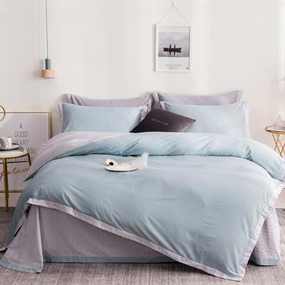 13372拼角工艺时尚款四件套 1.5m(5英尺)床 小资情调-绿