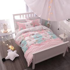 粉色女生系列(三件套) 1.2m(4英尺)床 美味回忆