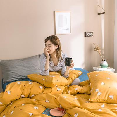 2019新款肌理纹样系列四件套 1.5m床单款四件套 莎莉