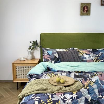 2020新款13372绿野仙踪系列四件套 1.5m床单款四件套 海芋之恋
