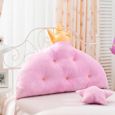 床头大靠背小皇冠靠背 1.2m 粉色