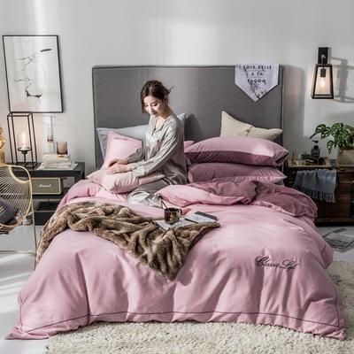 2018原创轻奢保暖棉绒四件套 1.5m床单款 朵唯-玉