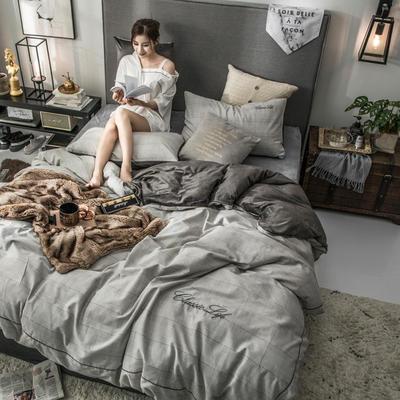 2018原创轻奢保暖棉绒四件套 1.5m床单款 玛格丽