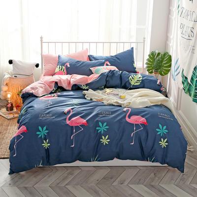 2019新款ins风四件套 1.2m(4英尺)床(床单款) 森迷