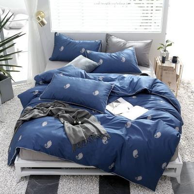 2019新款轻奢印花系列四件套 1.5m(5英尺)床 枕梦