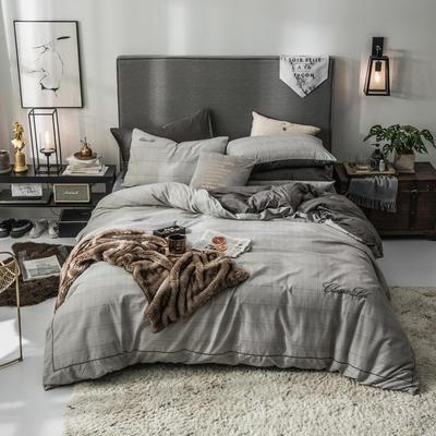 2019新款原创轻奢保暖棉绒水晶绒四件套 1.5m(5英尺)床单款 玛格丽