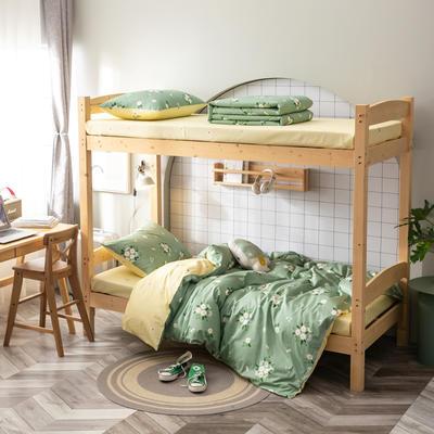 全棉13372儿童宿舍三件套 床单款三件套1.2m(4英尺)床 初恋