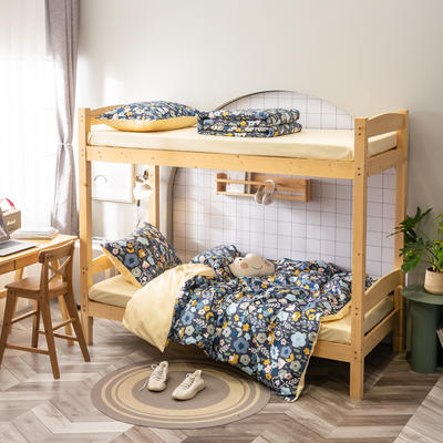 2020新款-13372儿童宿舍三件套 床单款三件套1.2m(4英尺)床 花儿与少年