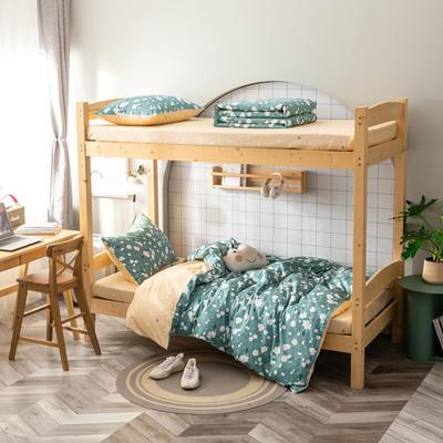 2020新款-13372儿童宿舍三件套 床单款三件套1.2m(4英尺)床 花魅