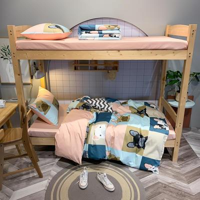 2020新款-13372儿童宿舍三件套 床单款三件套1.2m(4英尺)床 狂欢派对