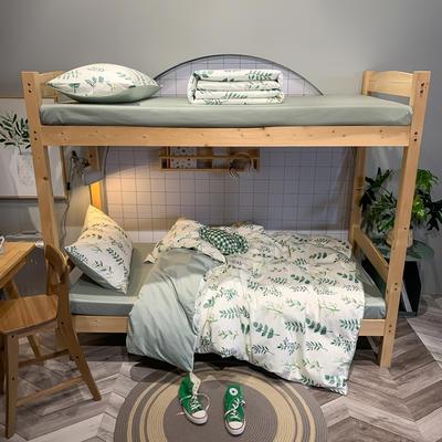 2020新款-13372儿童宿舍三件套 床单款三件套1.2m(4英尺)床 琉璃