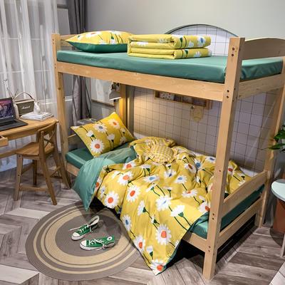 2020新款-13372儿童宿舍三件套 床单款三件套1.2m(4英尺)床 麻雀