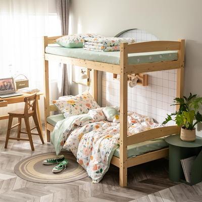 2020新款-13372儿童宿舍三件套 床单款三件套1.2m(4英尺)床 千禧