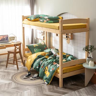 2020新款-13372儿童宿舍三件套 床单款三件套1.2m(4英尺)床 清新的开始