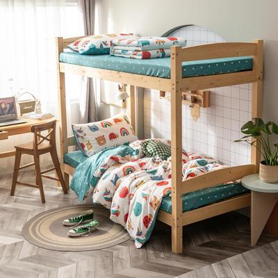 2020新款-13372儿童宿舍三件套 床单款三件套1.2m(4英尺)床 童真