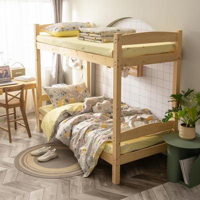 2020新款-13372儿童宿舍三件套 床单款三件套1.2m(4英尺)床 我有一个确信
