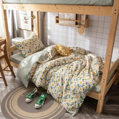 2020新款-13372儿童宿舍三件套 床单款三件套1.2m(4英尺)床 小雏菊