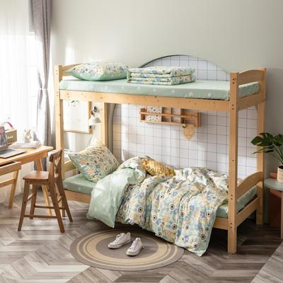 2020新款-13372儿童宿舍三件套 床单款三件套1.2m(4英尺)床 野子