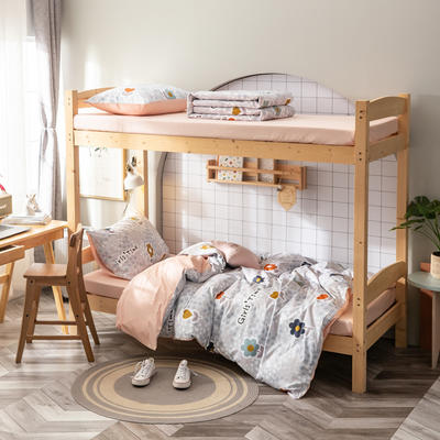 2020新款-13372儿童宿舍三件套 床单款三件套1.2m(4英尺)床 一半的一半