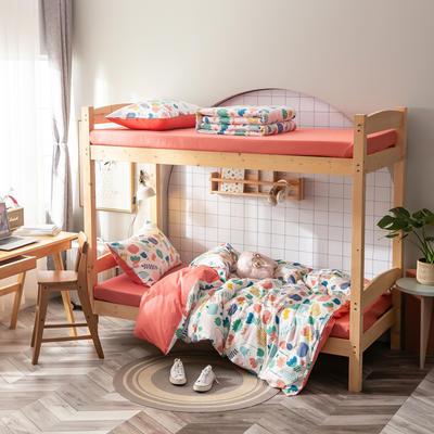 2020新款-13372儿童宿舍三件套 床单款三件套1.2m(4英尺)床 云呼吸
