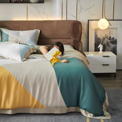 2021天丝印花四件套 1.8m(6英尺)床 容佩