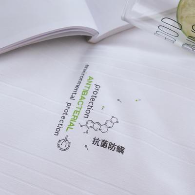 2020新款经典抗菌防螨保暖春秋冬被 150x210cm冬被  5斤 白色角度4