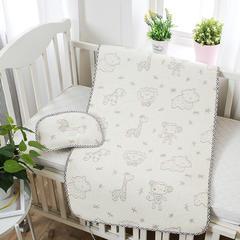 婴儿凉席 宝宝凉席 婴儿席子 儿童凉席60*120cm 120cmX60cm 喜羊羊-米