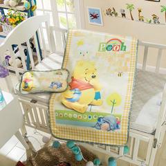 婴儿凉席 宝宝凉席 婴儿席子 儿童凉席60*120cm 120cmX60cm 维尼熊