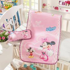 婴儿凉席 宝宝凉席 婴儿席子 儿童凉席60*120cm 120cmX60cm 米奇乐园