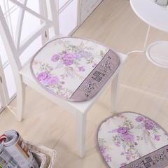保健凉枕/冰丝枕/童枕/ 麻将枕/凉垫系列 韩式绣花垫(40*40cm)