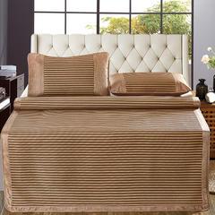 新品养生冰藤席三件套 亲肤可折叠 1.5m(5英尺)床 舒格