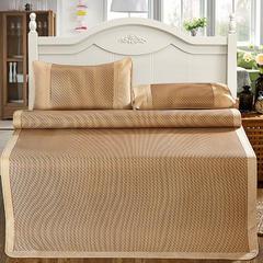 新品养生冰藤席三件套 亲肤可折叠 1.5m(5英尺)床 雅韵
