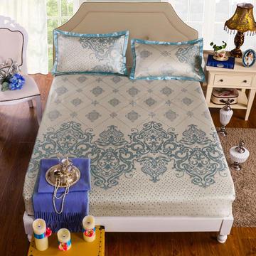 600D冰丝水洗床包/床笠 1.5/1.8 生态水洗席