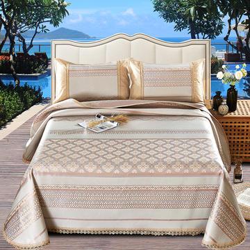 2019新品-600D水洗冰丝席 (250*250cm)床单式凉席