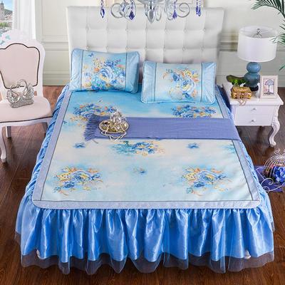 2020特卖 600D床笠床裙冰丝席  床垫全包款 1.8m(6英尺)床 花仙子